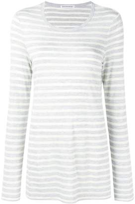 Alexander Wang striped long sleeved T-shirt