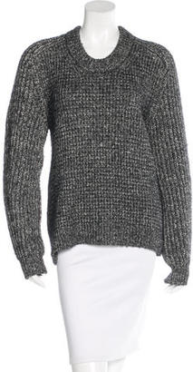 Belstaff Rib-Knit Crew Neck Sweater $175 thestylecure.com