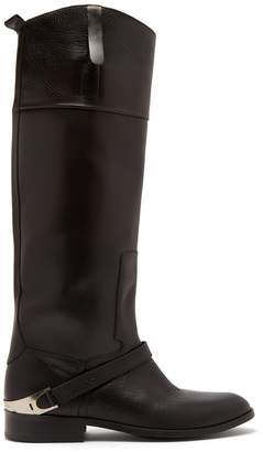 Golden Goose Charlye leather knee-high boots