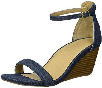 Kenneth Cole Reaction Women's 7 Cake Icing Wedge Sandal with Ankle Strap
