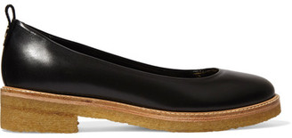 Lanvin - Leather Ballet Flats - Black $550 thestylecure.com