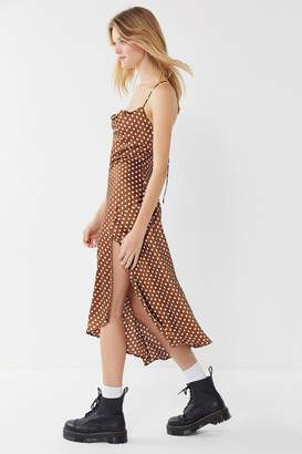 ASTR the Label Cowl Neck Strappy Back Dress