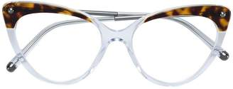 Dolce & Gabbana Eyewear tortoiseshell cat-eye glasses