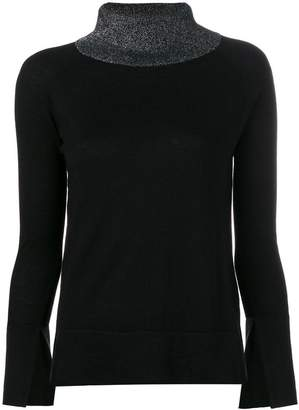 Snobby Sheep stand up collar jumper