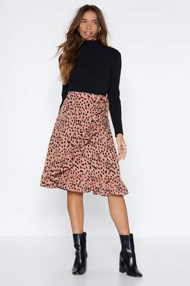 Nasty Gal Meow-ment of Truth Cheetah Skirt