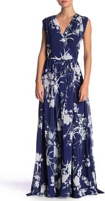 Yumi Kim Sashay Floral Wrap Maxi Dress