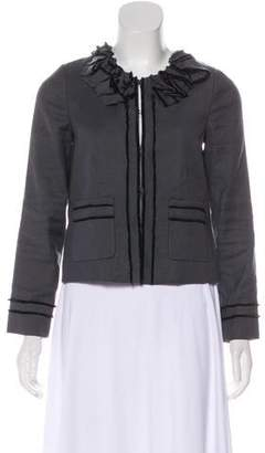 Rebecca Taylor Casual Knit Jacket