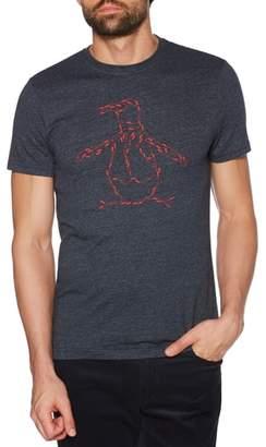 Original Penguin Dance Step Pete Graphic T-Shirt