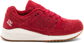 New Balance Lux Suede Sneaker $100 thestylecure.com