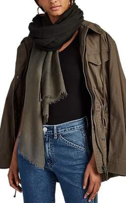 Faliero Sarti Women's Marilleva Wool-Silk Scarf - Black