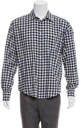 Rag & Bone Plaid Flannel Button-Up Shirt