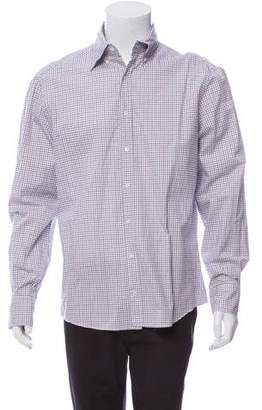 Michael Bastian Checkered Button-Up Shirt