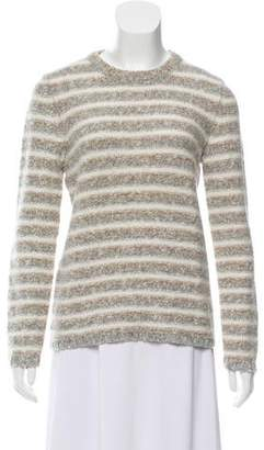 Amina Rubinacci Striped Wool Sweater