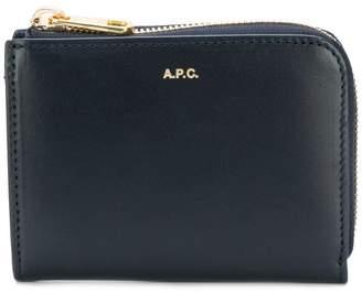 A.P.C. all around zip wallet