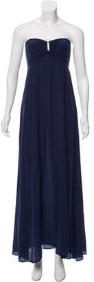 Heidi Klein Silk Strapless Dress