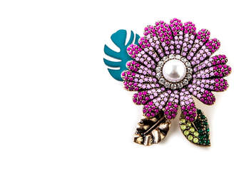 Oasis LUMINOSITY STATEMENT BROOCH
