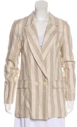 Reformation Oversize Striped Blazer