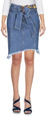 Sjyp Denim skirts
