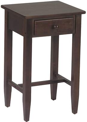 Office Star Products Home Star Products Espresso Telephone Accent Table