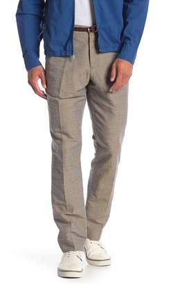 Perry Ellis Slim Linen Blend Pants - 32 Inseam