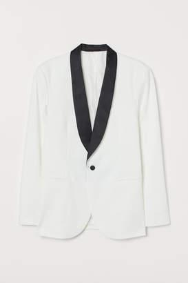 H&M Slim Fit Tuxedo Jacket
