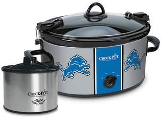 Crock Pot Crock-Pot Cook & Carry Detroit Lions 6-Quart Slow Cooker Set