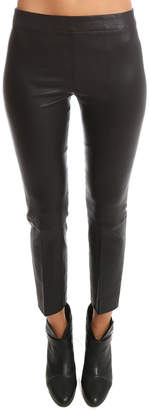 Vince Stitch Front Leather Legging