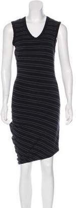 Alexander Wang Striped Midi Dress