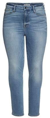 Good American Good Straight High Rise Jeans