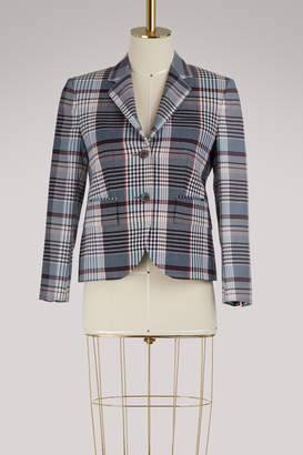 Thom Browne Checkered wool blazer