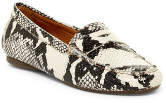Peter Millar Classic Snake Embossed Loafer $199.50 thestylecure.com