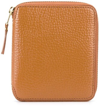 Comme des Garcons colour inside zip wallet