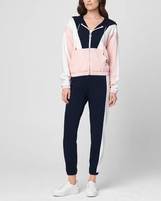 Juicy Couture JXJC Nylon & Terry Track Jacket