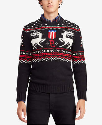 Polo Ralph Lauren Men's Intarsia Sweater
