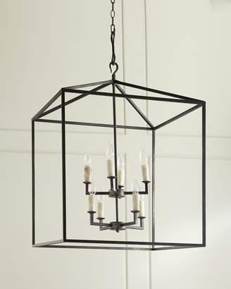 Regina-Andrew Design Regina Andrew Design Blackened Iron Cage Lantern