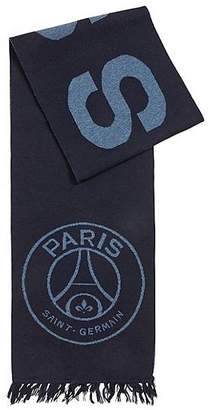 HUGO BOSS Limited-edition scarf with Paris Saint-Germain and BOSS logos
