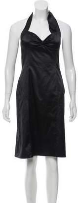 Rebecca Taylor Halter Mini Dress