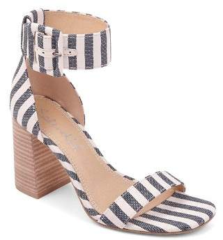 Splendid Women's Siri Striped Chunky Heel Sandals