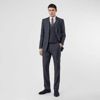 Burberry Classic Fit Check Wool Three-piece Suit