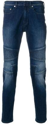Neil Barrett jeans with ribbed knees