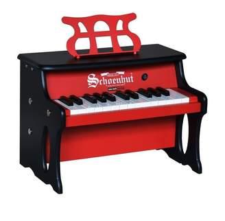 Schoenhut 25 Key Two Toned Red/Black Digital Table Top