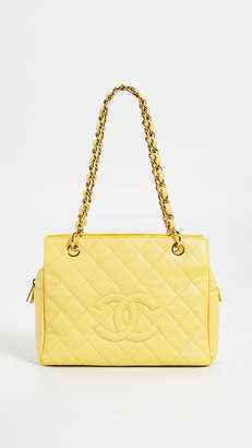 Chanel What Goes Around Comes Around Caviar Zip Tote