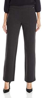Calvin Klein Women's Essential Power Stretch Straight Pant