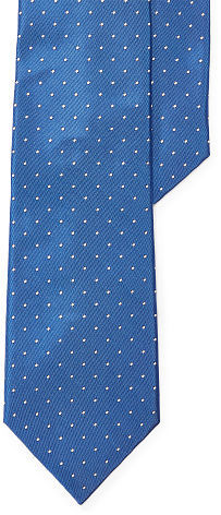 Ralph Lauren Purple Label Ralph Lauren Purple Label Polka-Dot Silk Narrow Tie