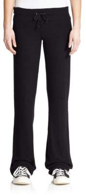 Wildfox Couture Drawstring Flared Sweatpants