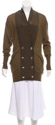Gucci Cashmere Silk-Accented Cardigan