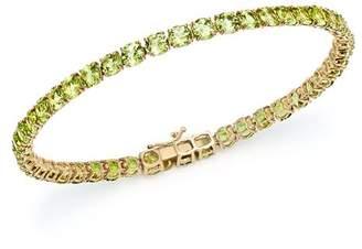 Bloomingdale's Peridot Tennis Bracelet in 14K Yellow Gold - 100% Exclusive
