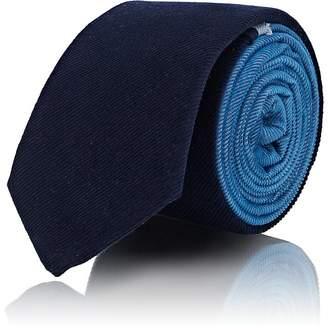 Title of Work Men's Corduroy Colorblocked Necktie