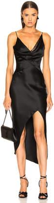 Cushnie Hudson Dress in Black   FWRD