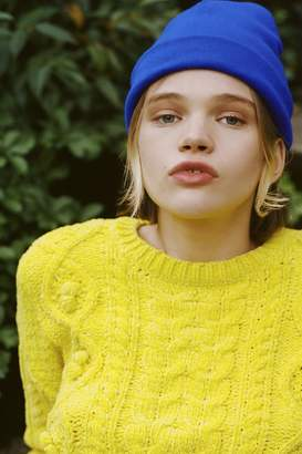 Urban Outfitters Jersey Knit Basic Beanie